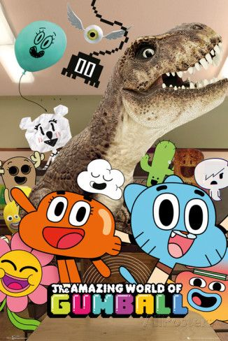 Amazing World of Gumball Group poster
