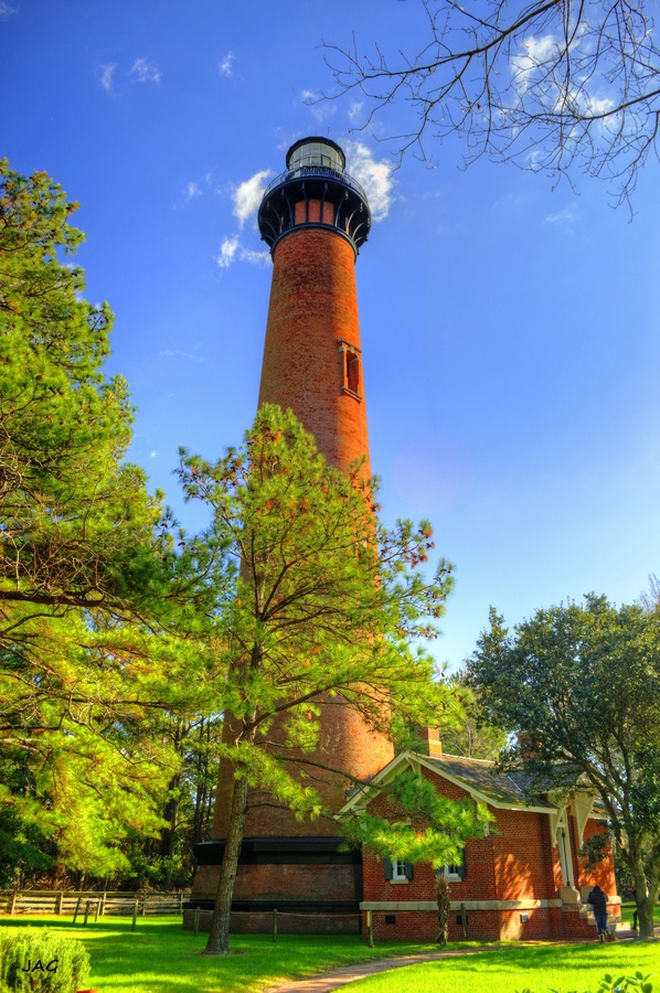 Currituck Beach Lighthouse In Corolla, North Carolina