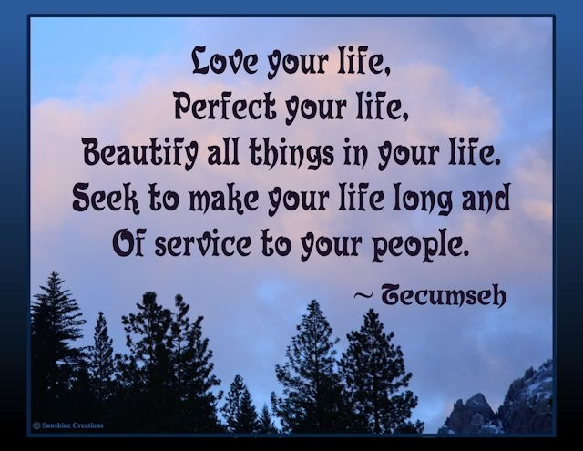 Love Your Life, Perfect Your Life