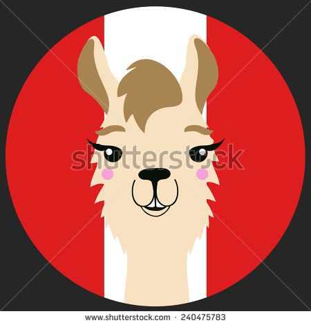 Cartoon llama Free vector for free download about (4) Free vector in ai, eps, cdr, svg format .