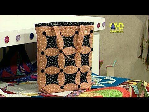 Sabor de Vida Artesanatos   Ecobag para Mãe por Jackie Lobato - 11 de Maio de 2014 - YouTube