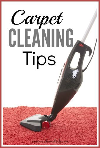 No need to call the professionals if you know these secret tips in cleaning your carpet.