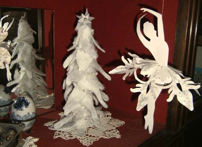 Albero di Natale in feltro