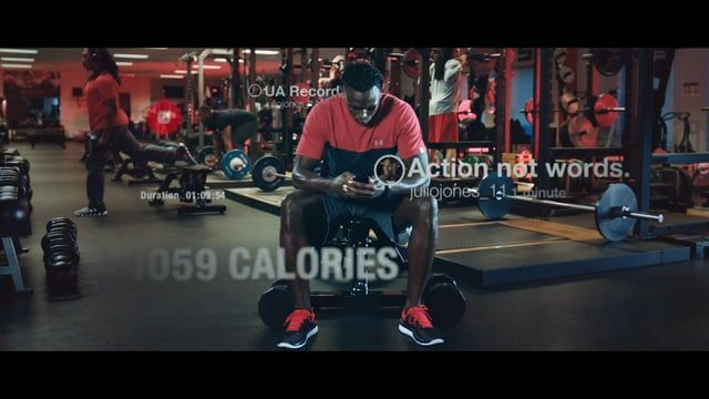 Under Armour's Julio Jones, NFL wide receiver for Atlanta Falcons, stars in this spot for Finish Line. Onesize was responsible for co-production, direction and post-production. Guest appearance and music by Dj Ruckus, mixed and composed by White Noise Lab. Credits: Client : Under Armour  Creative Directors : Sean Flanagan, Jed Jecelin Director Branded content : Trang Dam Production Company: Onesize US Production: Social Studios / Under Armour Executive Producer Onesize : Pepijn Padb...