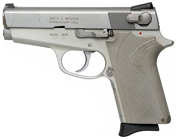 Smith & Wesson 3913LS Ladysmith - 9x19mm Luger