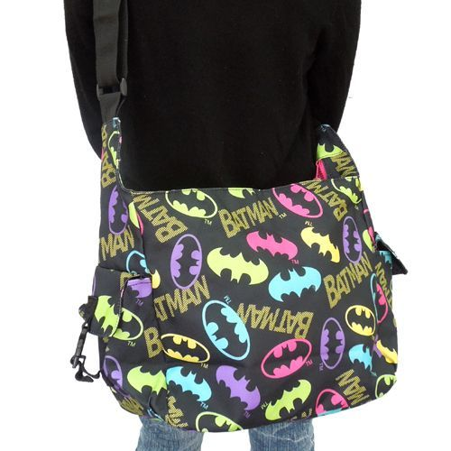 Cinemacollection   Rakuten Global Market: Batman /BATMAN? s カラフルバットマン? t shoulder bag L ( diagonal seat bag ) American comic anime toy store...