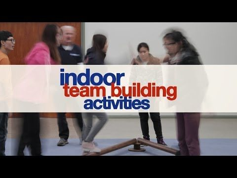 Indoor Team Building Activities - YouTube