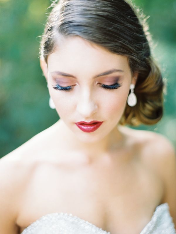 gorgeous bride photo by Pacific Northwest and California focused wedding photographer Erich McVey | via junebugweddings.com