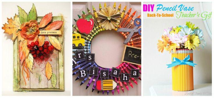 Idei de cadouri handmade pentru profesori și educatori