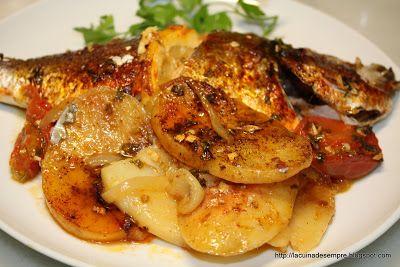 La cuina de sempre: Orada al forn amb patates