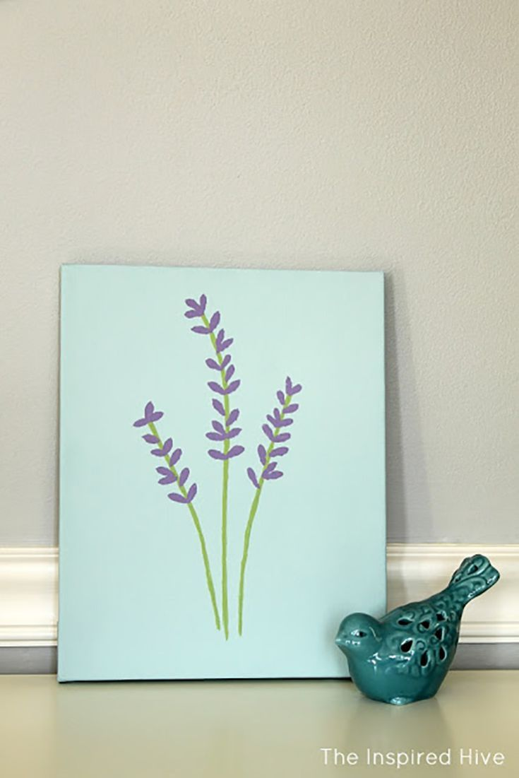 Easy Things To Paint For Beginner Artists Small Canvas Art Diy