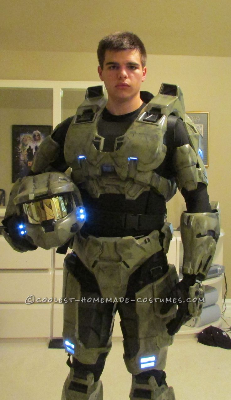 My Costume From Dream to Reality: I am Master Chief!... This website is the Pinterest of costumes