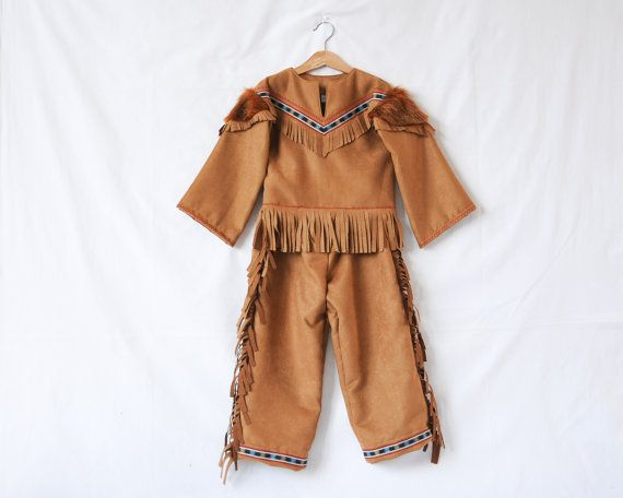 Boys Native American Indian Chief Costume Kids by AtelierSpatz