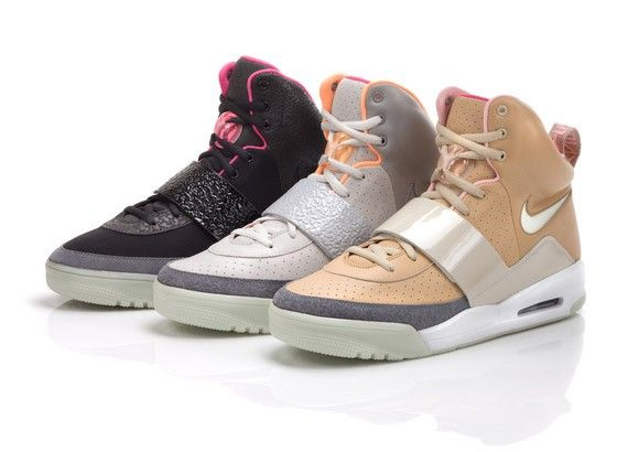 I'd take this trio any day. Nike Air Yeezy Spring 2009