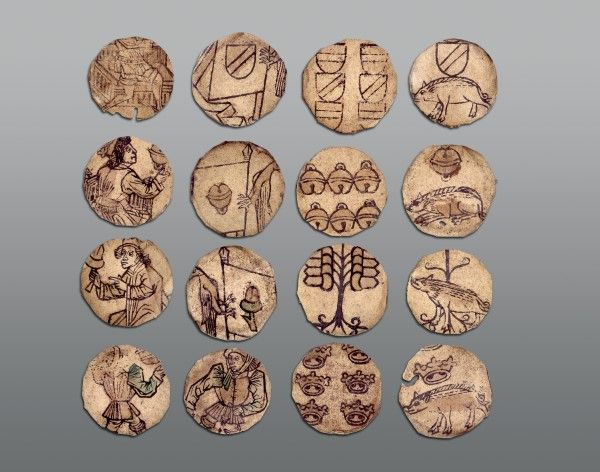playing cards south germany or alsace last quarter 15th century woodcut hand coloured diameter. Black Bedroom Furniture Sets. Home Design Ideas