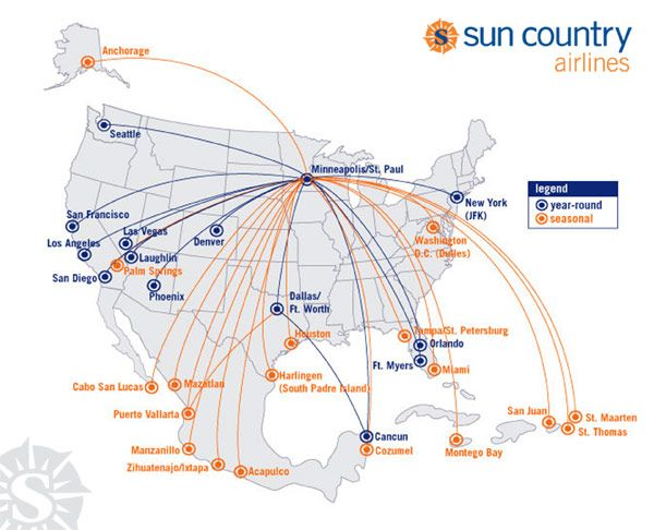 17 best images about Airline Routes on Pinterest | West coast ...