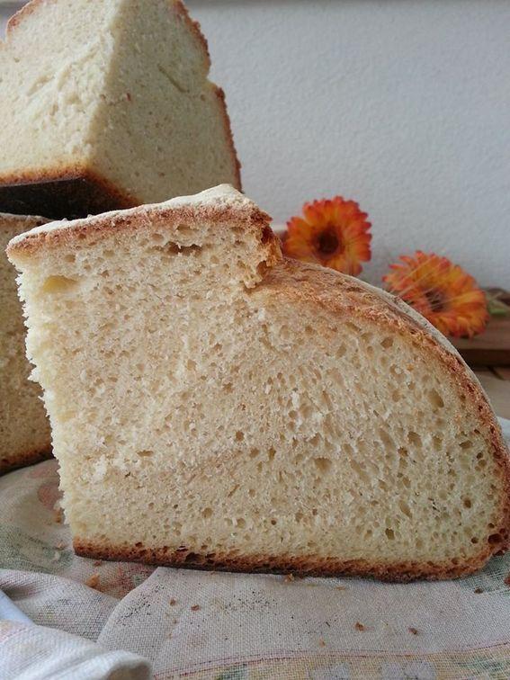 Pane di semola con pasta madre e pre-impasto
