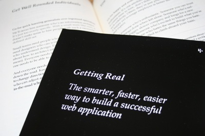 Getting Real, by 37Signals -- probably worth revisiting these concepts annually.: Bookie Wook, Awesome Book, Web Design, Book Worth, Free Ebook, Real Ebook, Graphics Design, Web Application, Business Design