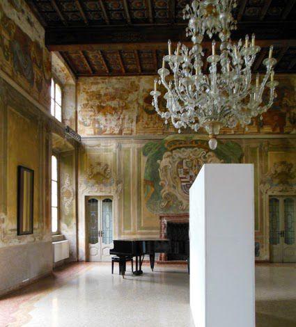 "Location: Villa Rusconi, Castano Primo (Milano) Exhibition Adriano Annino ""Walls have mouths to tell"" 16 – 24 maggio 2015 Curated by Fabio Carnaghi Promoted by ARK Milano"