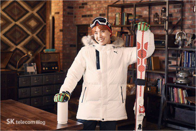 SK Telecom drops a bunch of unreleased behind cuts of BTS, their models for 2016 | allkpop.com