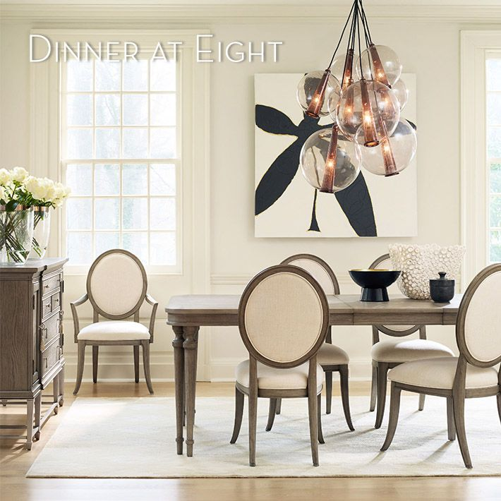Dinner at 8 Dining Room by Cynthia Rowley - Chicago Furniture | Walter E. Smithe Furniture + Design | Chicagoland