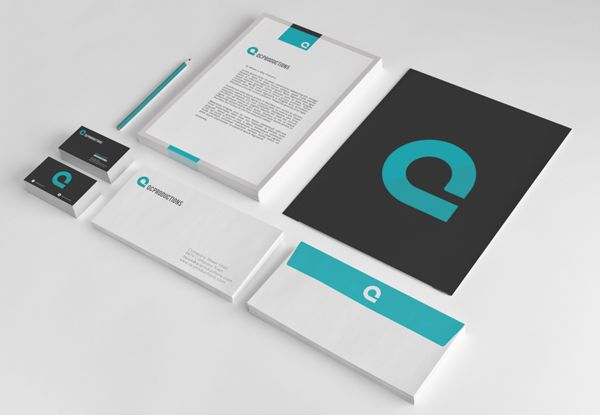 QC Productions Identity by Sophia Yip