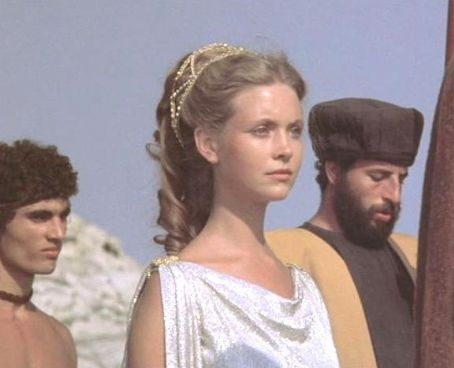 Andromeda in Clash of the Titans (1981).  I loved this movie back in the day...