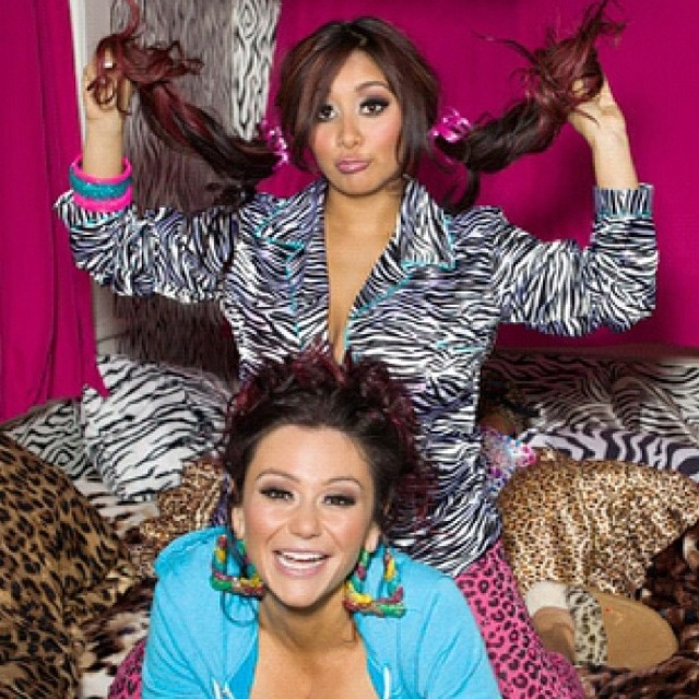 Snooki and Jwoww.... i love them :)