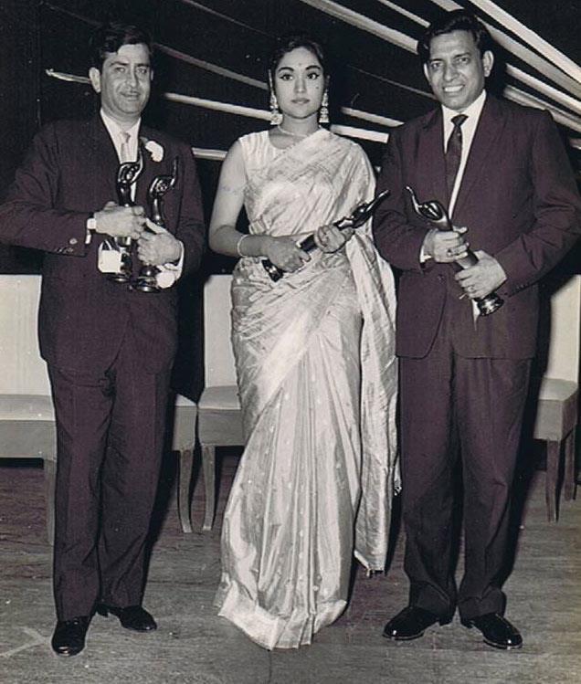 Raj Kapoor and Vyjayanthimala