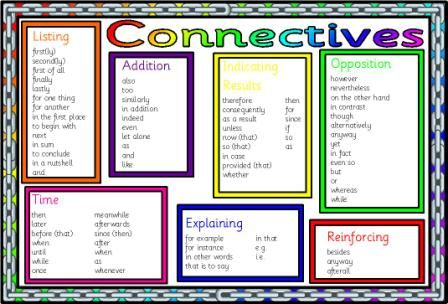 Good grouping of connectives