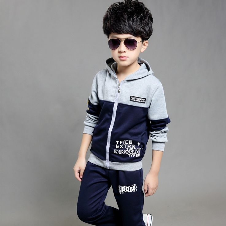 Kids Unisex Clothing Sets For Girls Boys Sports Suit Cotton Casual Tracksuits Children Sportswear School Uniform 4 6 8 10 12Year