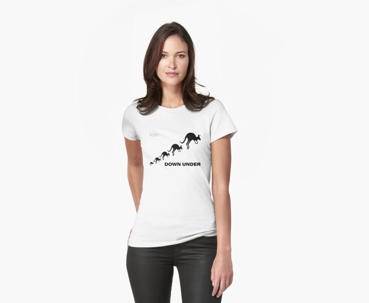 Australian kangaroo design from Down Under. Great for Australians travelling overseas or as a souvenir of your visit to Australia. • Also buy this artwork on apparel, stickers, phone cases, and more.