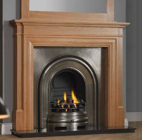 KESWICK cast iron insert | Flames of Richmond | Gas, Electric, Wood burning fires & stoves, and fireplaces