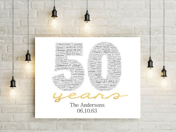 about 50th Wedding Anniversary Ideas on Pinterest Golden wedding ...