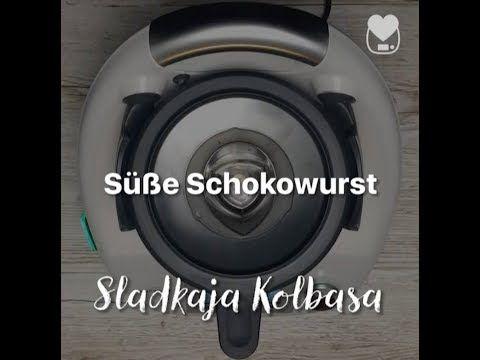 Thermomix - Süße Schokowurst / Sladkaja Kolbaska ...