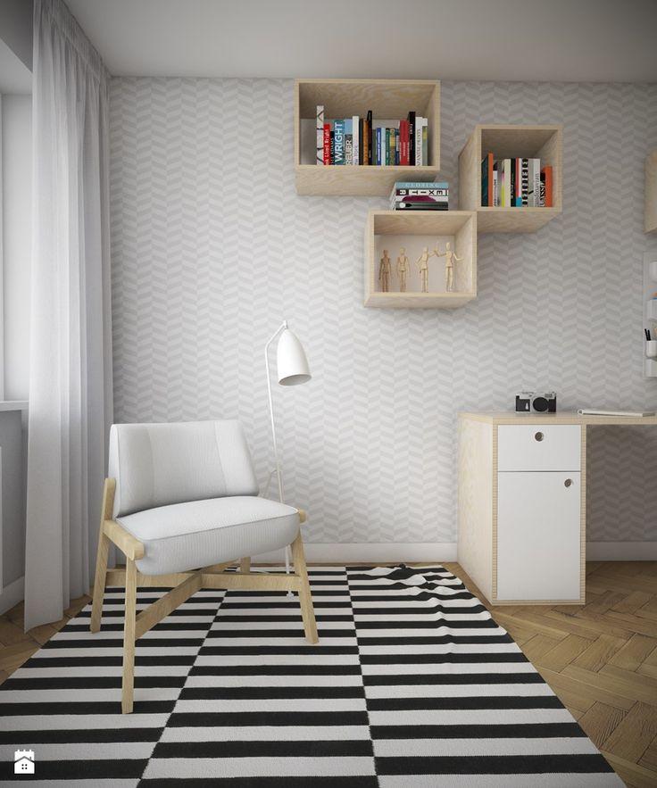Sypialnia styl Skandynawski Sypialnia - zdjęcie od Studio Monocco