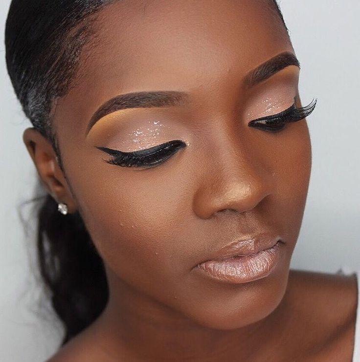M O N I Q U Em  Make-Up  Black Girl Makeup, Dark Skin -9841
