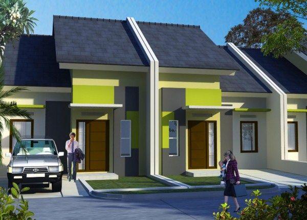 Gambar Rumah Type 36 Tampak Depan