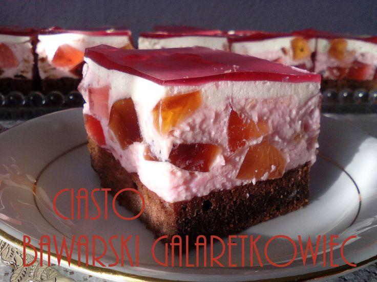 Ciasto bawarski galaretkowiec