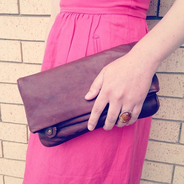 Leather clutch. Made in Spain. www.pasionshoes.com.au