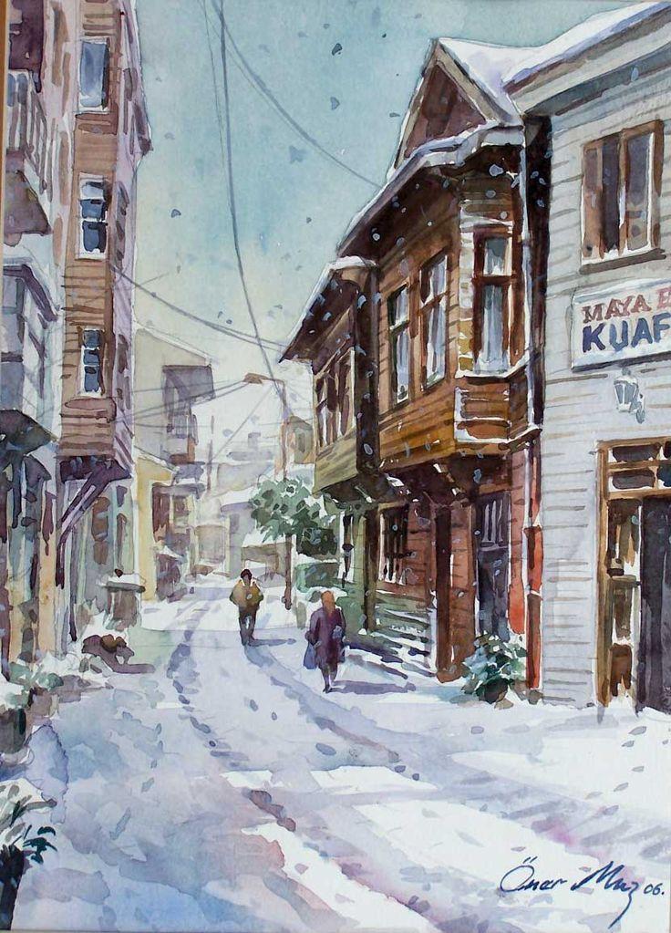 Ömer Muz ve Öğrencileri Resim Sergisi 4 - 13 Mayıs 2013 tarihleri arasında Hobi Sanat Merkezi'nde… http://es.pinterest.com/bernaaltundas/istanbul/