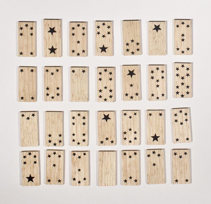 World's prettiest dominosLittle One, Domino Sets, Kids Diy, Games Room, Frederick, Stars Domino, There, Wooden Toys, The Games