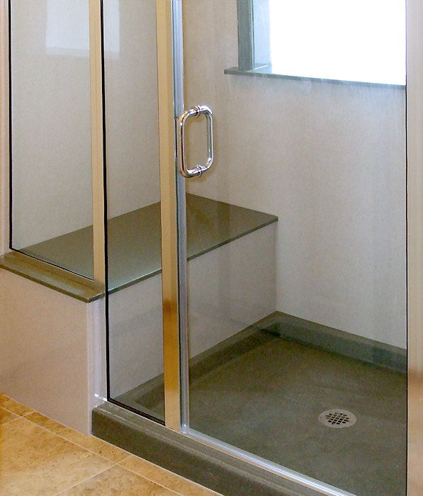 how to build a shower base for walk in shower