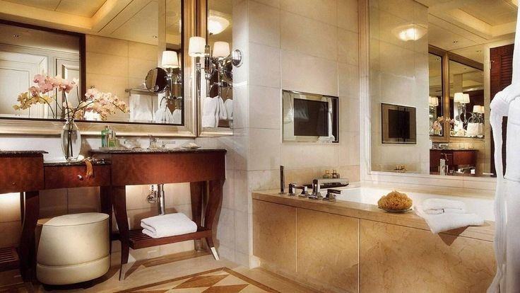 Bathroom - Four Seasons Hotel Macau