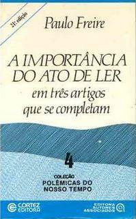 Download A Importancia do Ato de Ler - Paulo Freire em-epub-mobi-e-pdf