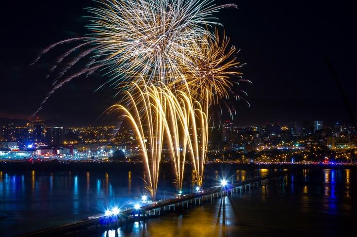 Concepción en Año Nuevo. Foto de Franco Tempio.