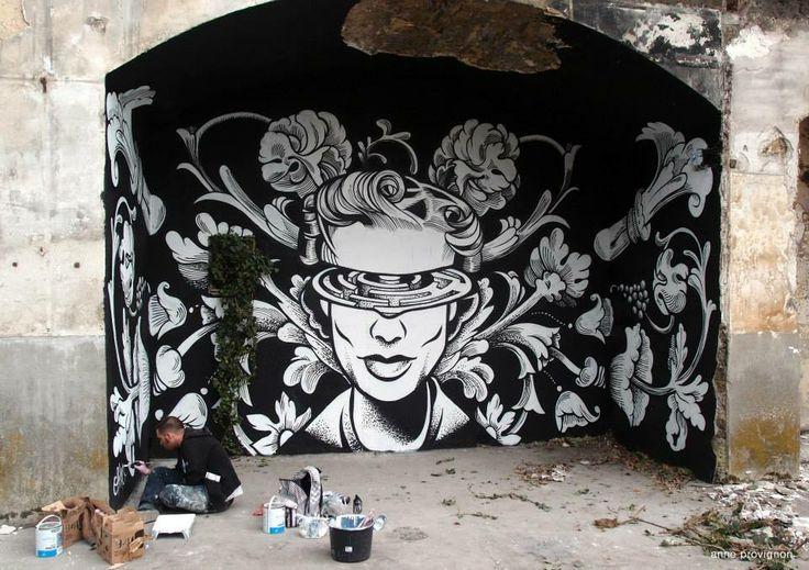 "Artist: Sixo Santos ""Fort Aubervilliers"""