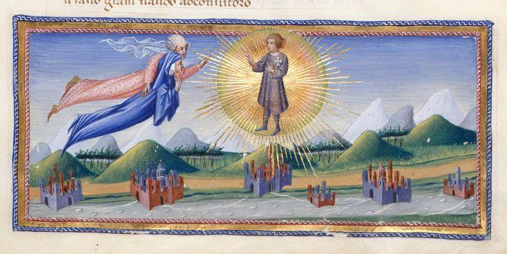 Florentine towns - Dante Alighieri Title Divina Commedia Origin Italy, N. (Tuscany, Siena?) Date between 1444 and c. 1450 Language Italian http://www.bl.uk/catalogues/illuminatedmanuscripts/record.asp?MSID=6468&CollID=58&NStart=36