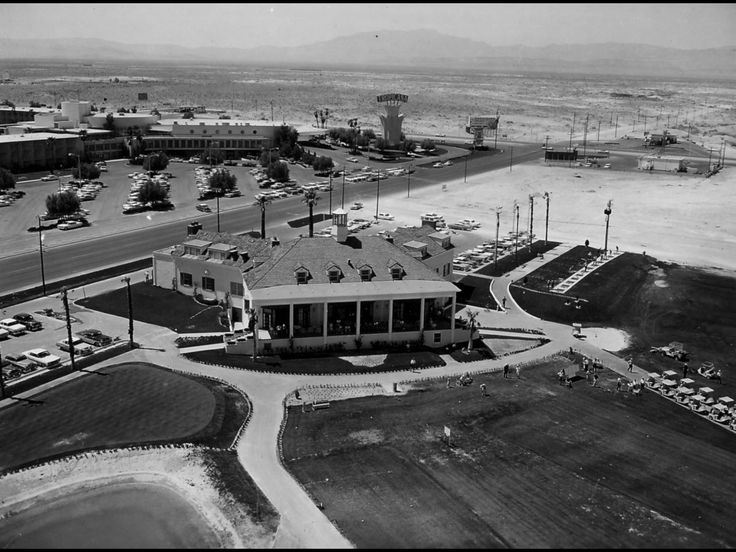 Tropicana Country Club..Tropicana Hotel in the background 1962