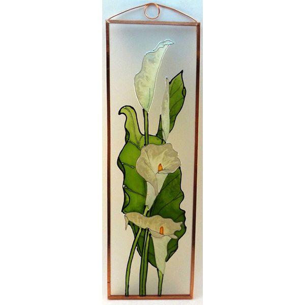 Kála Grafika: Navratil Zsuzsa üvegre kivitelezte: Kőrösi Andrea Mérete: 7,5 cm x 23,5 cm